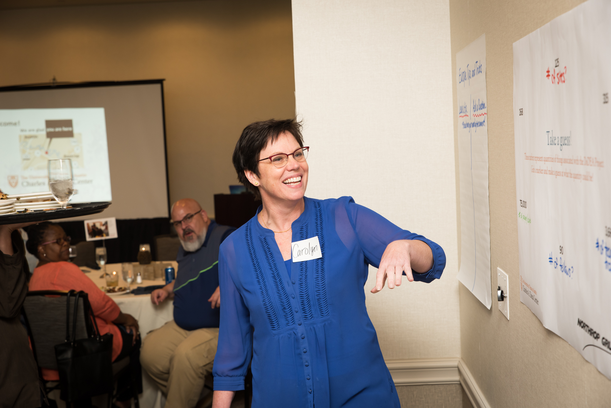 Carolyn Landel at a workshop
