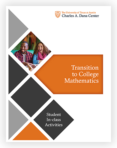 Transition to College Mathematics - Student