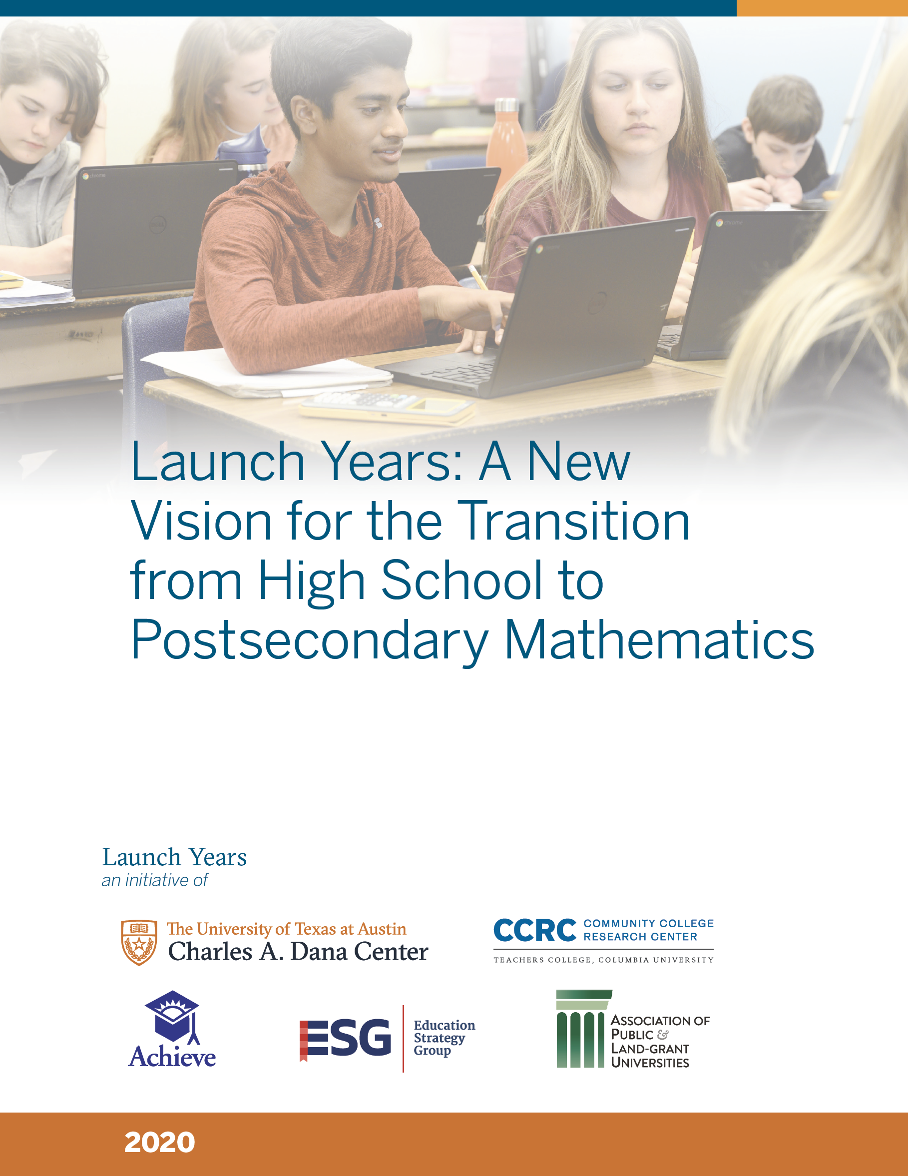 cover of Launch Years report