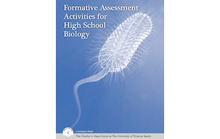 book cover - formative assessment activities for High School Biology