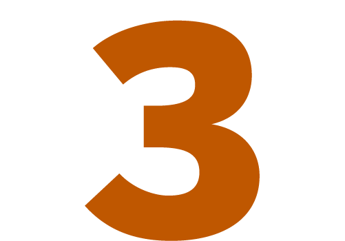 An image showing the number 3.