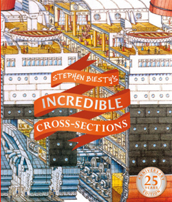 incredible cross sections book cover
