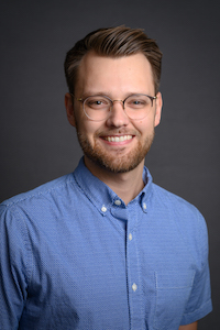 portrait of dana center staff member logan marconette